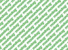graphic design : . #recruiters #maandag #logo