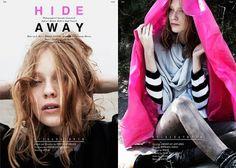Hide Away   Volt Café   by Volt Magazine #beauty #design #graphic #volt #photography #art #fashion #layout #magazine #typography