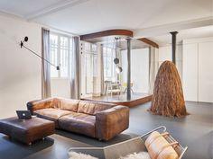 Parisian apartment #interiordesign