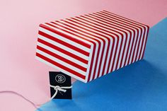 How to use a business card 2 on Behance #business card color stripes photography still life still life photoshooting fashion trend