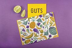 Guts zine #buffet by Tatiana Boyko, via Behance