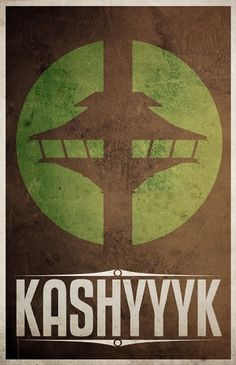 All sizes | kashyyyk | Flickr - Photo Sharing! #design #wars #poster #star #minimalist