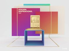 golden inspirations fubiz graphic