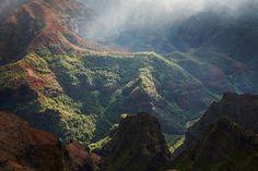 waimea canyon in Hawaii by Peter Clarke Photography Australia