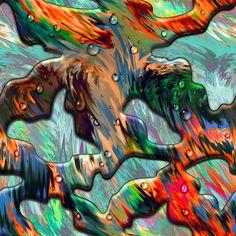 Vasya Kolotusha #pattern #acid #textile #camo