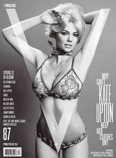 KATE UPTON BY INEZ & VINOODH FOR V MAGAZINE 872 #fashion #cover #magazine