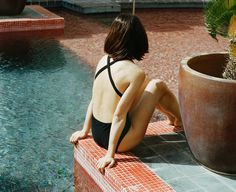 Beautiful Swimwear Campaign Shot at La Muralla Roja | Trendland