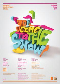 Summer Show 2014 Poster