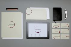 mylenepoisson_portfolio1 #stamp #stationary #design #wine #minimalism #corporate