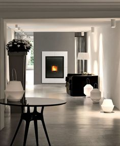 New Pellet and Wood Burning Stoves by MCZ and Sergio Leoni - InteriorZine