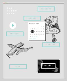 Ola Kvernberg #website #layout #design #web