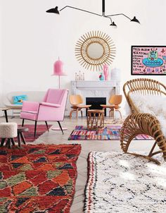 Boucherouite rug #interior #design #decor #deco #decoration