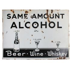 XXX_9247_1352758643_1.jpg (768×768) #beer #sign #liquor #wine #vintage