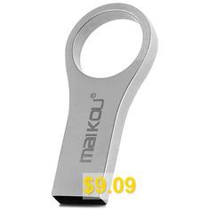Maikou #MK-206 #Mini #16GB #USB #2.0 #Flash #Drive #- #SILVER