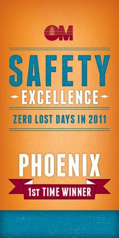 Safety Excellence Banner #print #design #banner