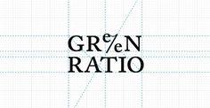 Branding | Green Ratio on Behance #logo #brand #branding #wordmark