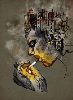 Smoking like a Chimney - Katie Melrose