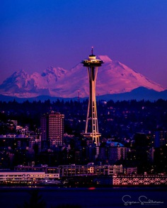 Stunning Cityscapes of Seattle, Washington by Sigma Sreedharan