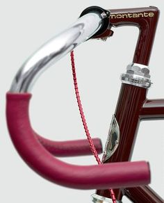 Dailymovement #maroon #red #bicycle #fixed #wheel #bike