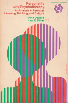 book cover, 1960s, colour, Rudolph de Harak