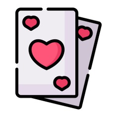 See more icon inspiration related to casino, poker, game, card, play, gaming, entertainment, cards, heart and spade on Flaticon.