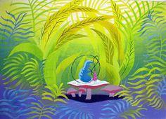 Mary Blair - Alice in Wonderland concept art
