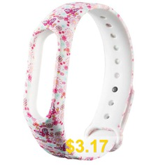for #Xiaomi #Mi #Band #2 #Printed #Pattern #Bracelet #TPU #Strap #- #MULTI