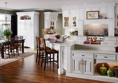 Country kitchen with painting