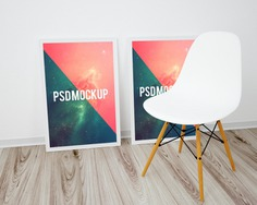 Frames on wooden floor and white chair mock up Free Psd. See more inspiration related to Frame, Poster, Mockup, Wood, Template, Frames, Photo frame, Web, Photo, Website, Wall, White, Elegant, Mock up, Poster template, Chair, Floor, Psd, Wooden, Templates, Website template, Mockups, Up, Web template, Realistic, Showcase, Real, Web templates, Mock ups, Mock, Psd mockup, Ups and Wood mockup on Freepik.