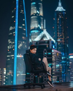 Moody Street Portrait Photography by Nathan Ackley