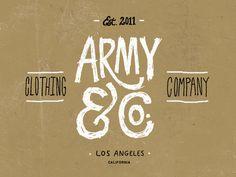 Army & Co. #identity