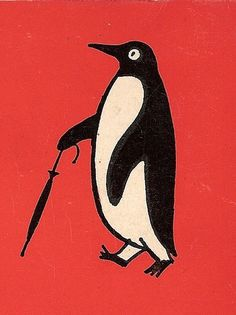 Penguin number 2 | Flickr: Intercambio de fotos #print #illustration