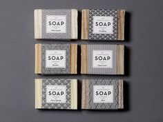 London Field Soap Company by One Darnley Road #geometric