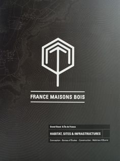 FRANCE MAISONS BOIS #logo #pattern #and