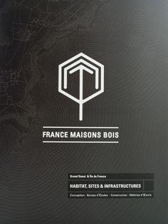 FRANCE MAISONS BOIS #logo #pattern #and
