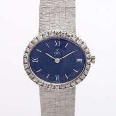 EBEL jewelry watch with lapis lazuli dial