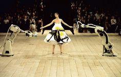 Spray painted dress, Alexander McQueen, No. 13, S/S99