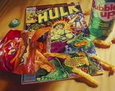 Jared Erickson | Because I Can #comic #hulk #snack #painting