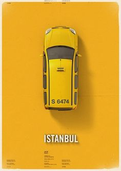 Citycab poster on the Behance Network #mehmet #cab #taxi #poster #gozetik #citycab #car
