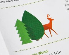 TypeToy.tumblr.com #deer #trees