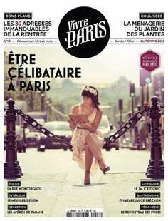 NAS CAPAS: Vivre Paris, Autumn 2013 #magazine cover #typography #autumn #2013