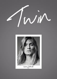 Constance Jablonski by Nick Dorey for Twin Magazine #cover