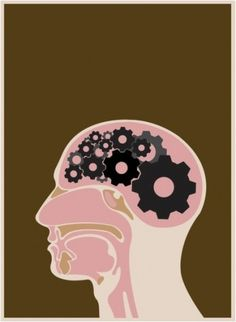 Random Tandom #vector #self #portrait #poster #gears