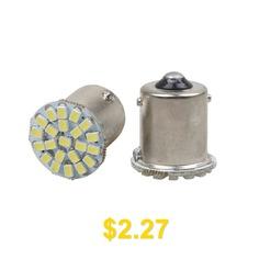 1156 #P21W #BA15S #R10W #R5W #G18 #22 #SMD #1206 #LED #Car #Parking #Lamp #Auto #Tail #Bulb #12V #- #WHITE