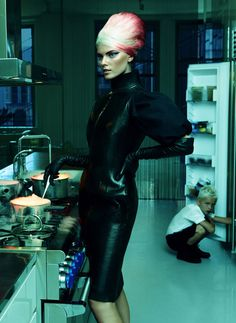 Maryna Linchuk by Greg Kadel for Allure #fashion #model #photography #girl