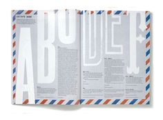 Zembla Magazine Matt Willey #layout #design #editorial #magazine