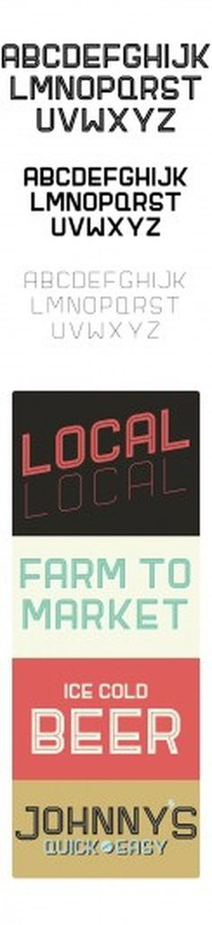 LOCAL: TYPEFACE on Typography Served #font #cofer #local #tristan