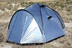 Siesta4: Heat and Light Blocking Tent - IPPINKA Siesta4 will definitely rank as a quintessential equipment for campers! It's a tent with