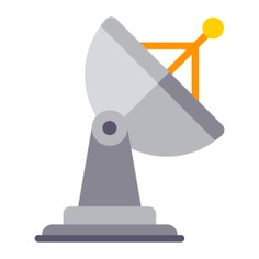 See more icon inspiration related to radar, antenna, satellite dish, wireless and technology on Flaticon.