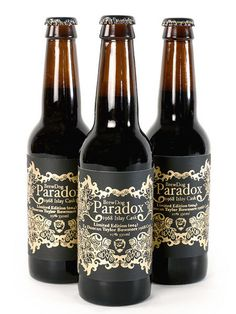 BrewDog Paradox #packaging #beer #label #bottle